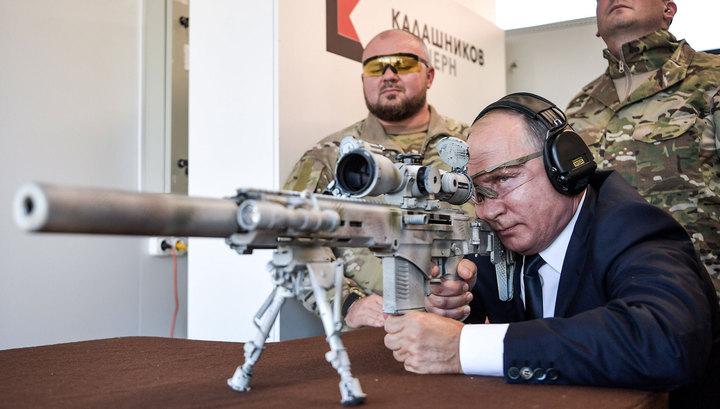 Путин: российское оружие превосходит зарубежные аналоги, но нужен задел на будущее