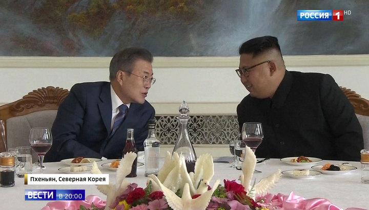 Лидеры двух Корей посетят священную гору Пэктусан