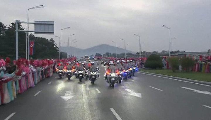 Ким Чен Ын и Мун Чжэ Ин отправились на священную гору Пэктусан