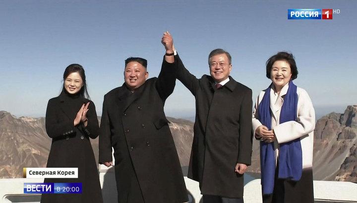 Лидер КНДР подарил коллеге из Южной Кореи две тонны деликатесных грибов