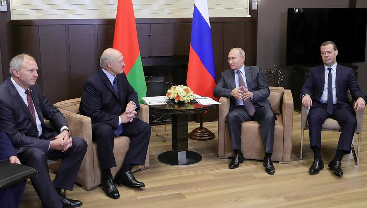 Насыщенная повестка: Путин и Лукашенко встретились в Сочи