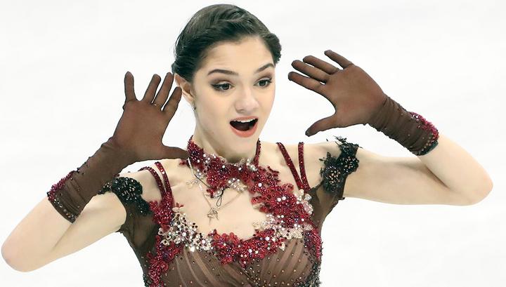 Евгения Медведева выиграла Кубок России по фигурному катанию
