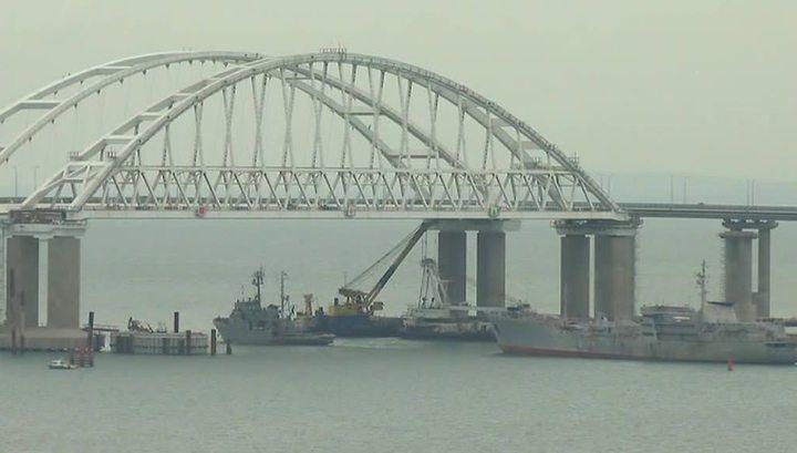 Проход кораблей ВМС Украины через Керченский пролив: Киев фактически признал Крым российским