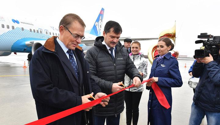 В Норильске завершилась реконструкция взлетно-посадочной полосы