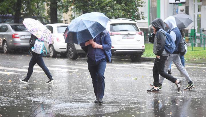В Москве выпала треть месячной нормы осадков