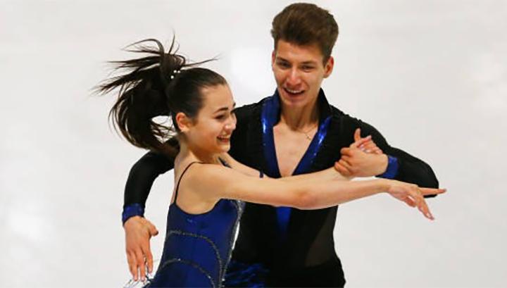 Фигурное катание. Худайбердиева и Назаров выиграли международный турнир