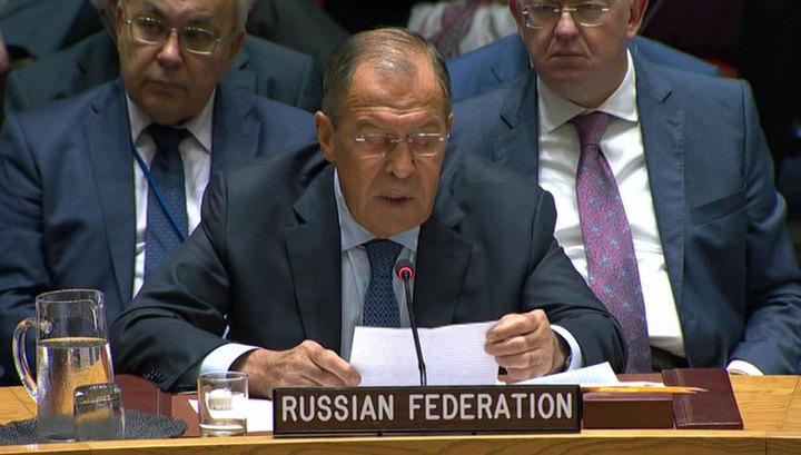 Сергей Лавров: за разоружением КНДР должно следовать ослабление санкций