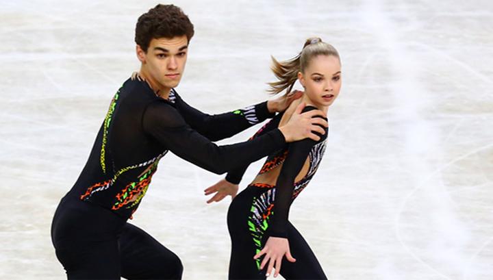 Пять российских дуэтов лидируют в финале юниорского Гран-при фигуристов