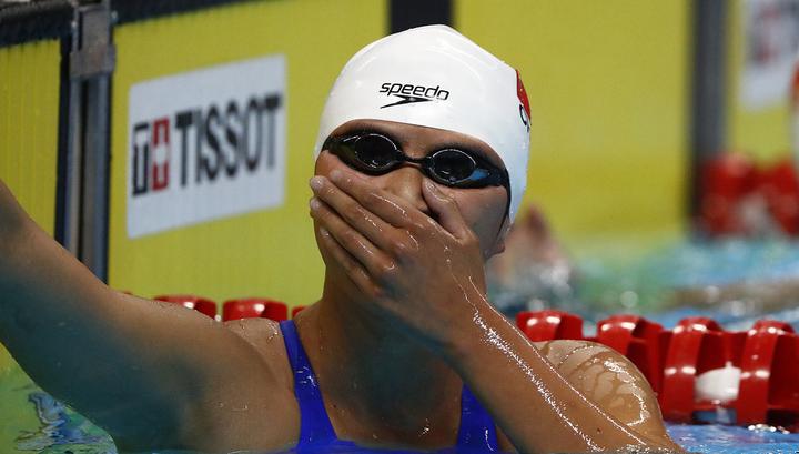 Китайская пловчиха обновила мировой рекорд на этапе Кубка мира