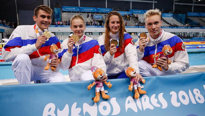 Российские спортсмены завоевали семь медалей на юношеской Олимпиаде