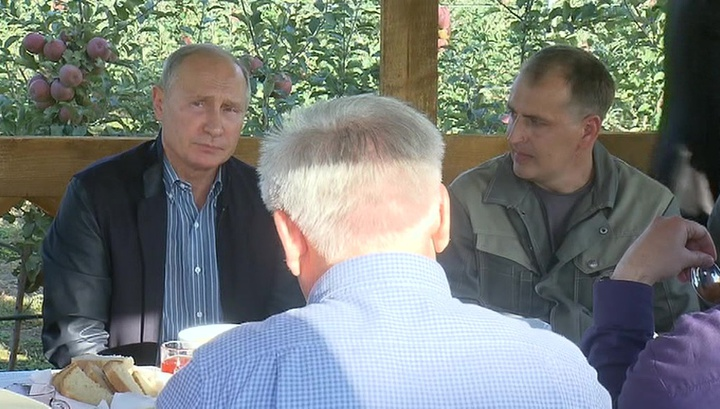 Путин пообещал прибавку к пенсии проработавшим на селе больше 30 лет
