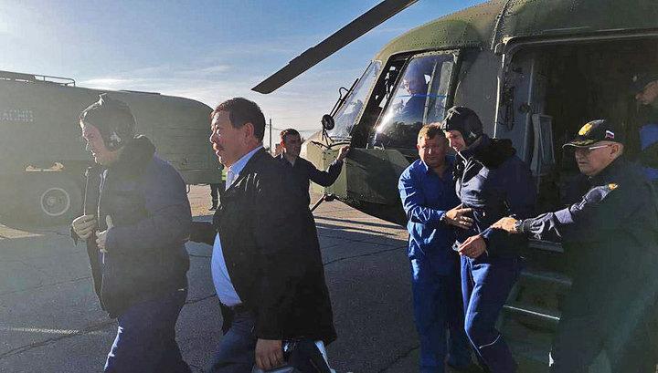 Спасательная операция под Джезказганом. Видео