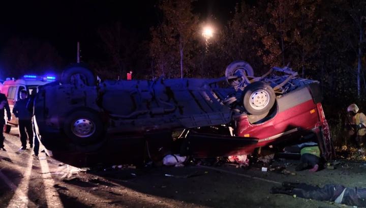 12 человек погибли в ДТП на трассе М7: водители столкнувшихся машин живы