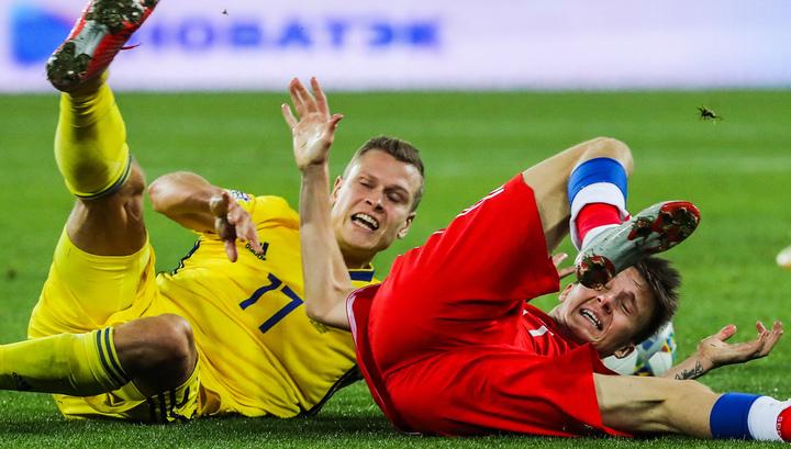 Лига наций. Россия и Швеция разошлись миром в Калининграде