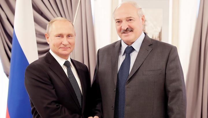 """""""Еще пообщаемся"""": Путин и Лукашенко провели двустороннюю встречу"""