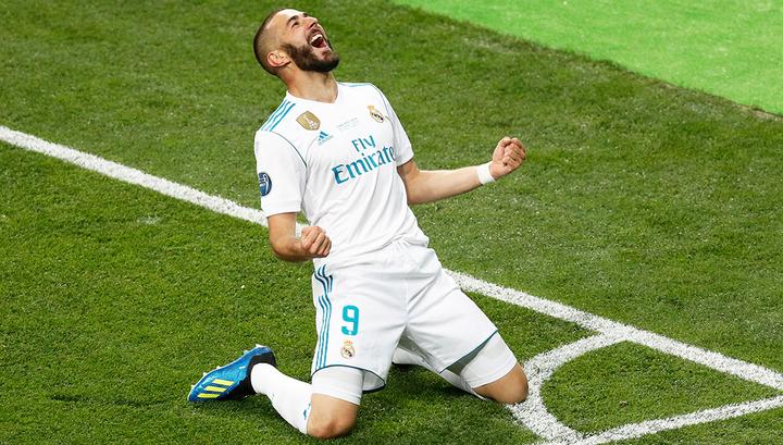 Лига чемпионов. «Реал» разгромил чешскую «Викторию»