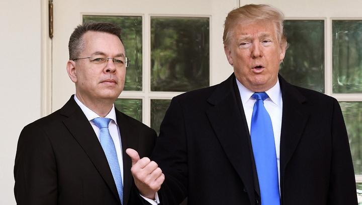 Трамп: освобождение Брансона - огромный шаг в отношениях с Турцией
