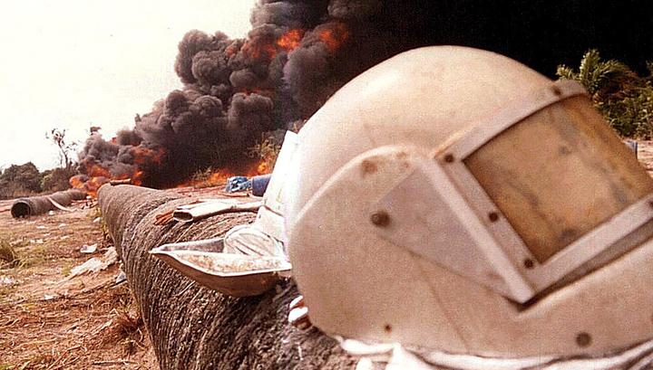 Число жертв взрыва и пожара на нефтепроводе в Нигерии достигло 24 человек