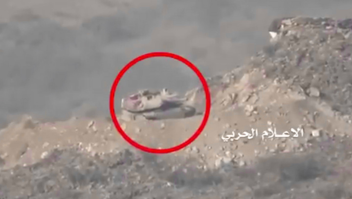 Уничтожение американского танка Abrams сняли на видео