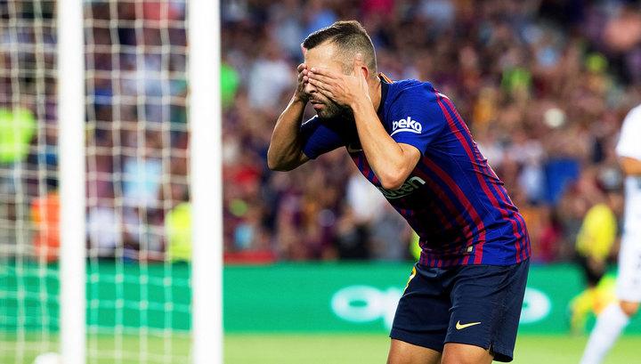Жорди Альба отсутствует в сборной Испании из-за конфликта с Энрике
