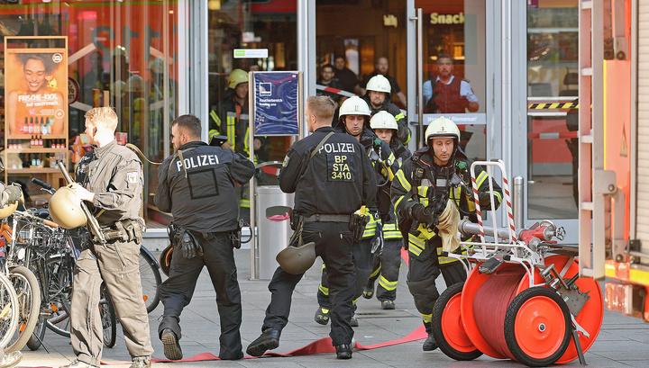 Преступник, захвативший заложника в Кёльне, обезврежен