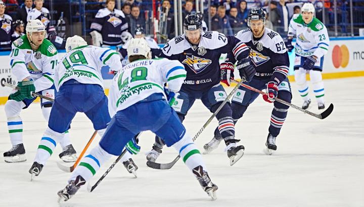 Чемпионат КХЛ. Магнитка на домашнем льду проиграла