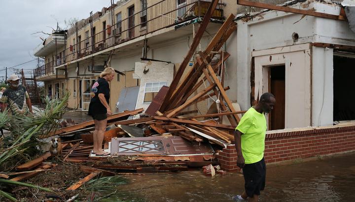 Число погибших от урагана