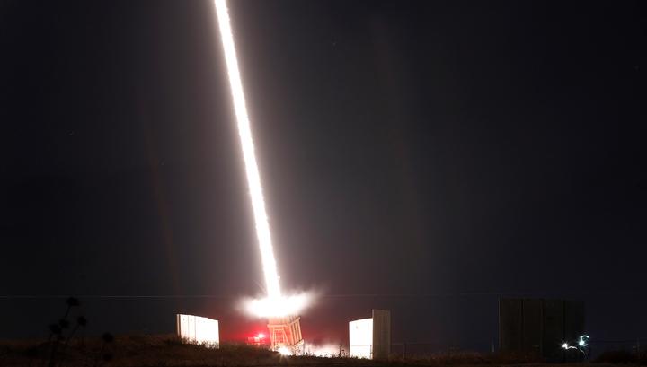 Вооруженные силы Израиля засекли пуск ракеты из сектора Газа