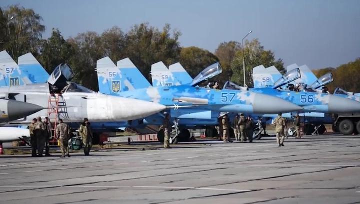 """Сглазил """"Чистое небо"""": Су-27 разбился после грозных заявлений Порошенко"""