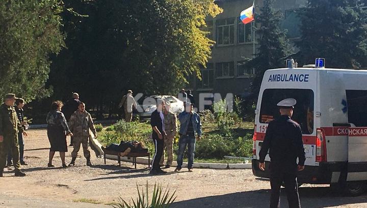 В Керчи в колледже взорвался газ. 10 погибших