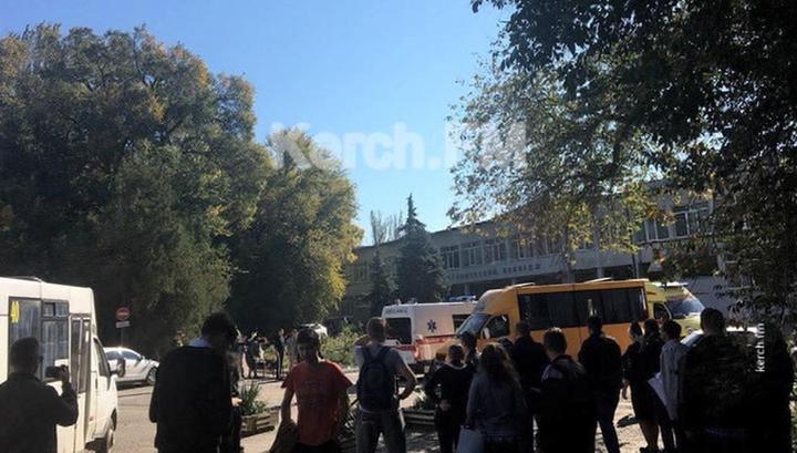 НАК: в керченском колледже произошел взрыв неустановленного устройства