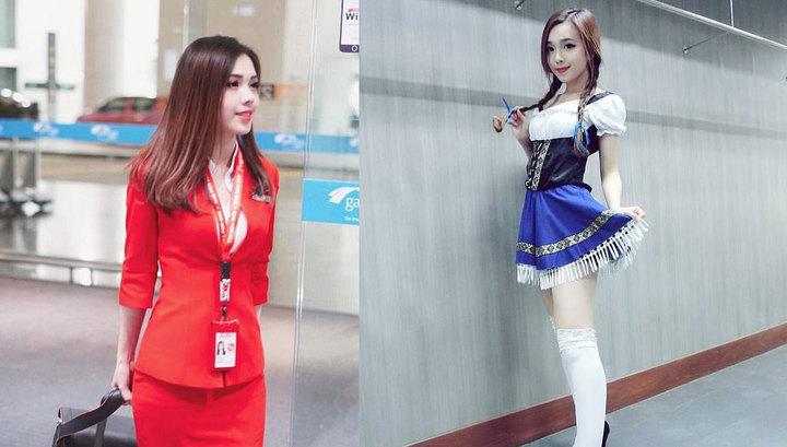 Интернет-пользователи выбрали самую красивую стюардессу в мире