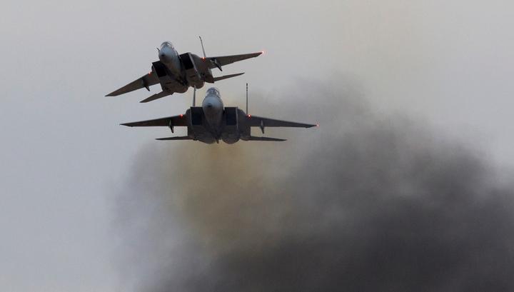 Американские F-15 по ошибке разбомбили курдский отряд