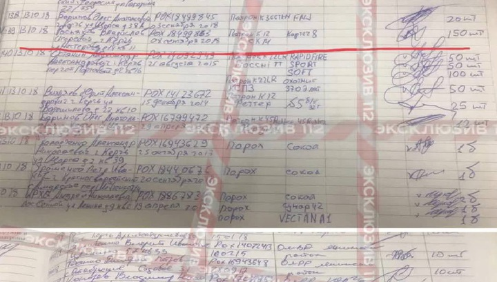Покупка боеприпасов керченским убийцей попала на видео