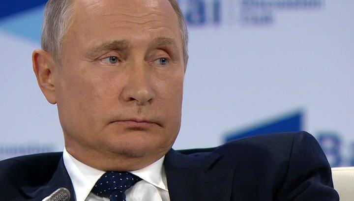 Путин: Киев превратил русофобию в товар на экспорт