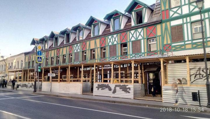 После реконструкции новый фасад дома Заболоцкого на Маросейке шокировал москвичей