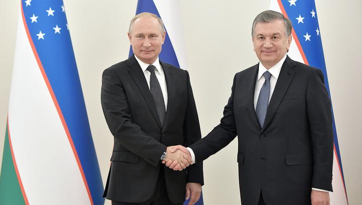 Путин и Мирзиеев подписали совместное заявление