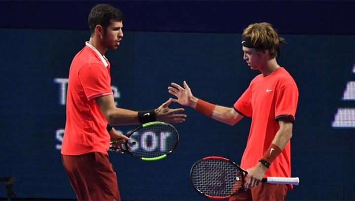 Сборная России по теннису улучшила позицию в рейтинге Кубка Дэвиса