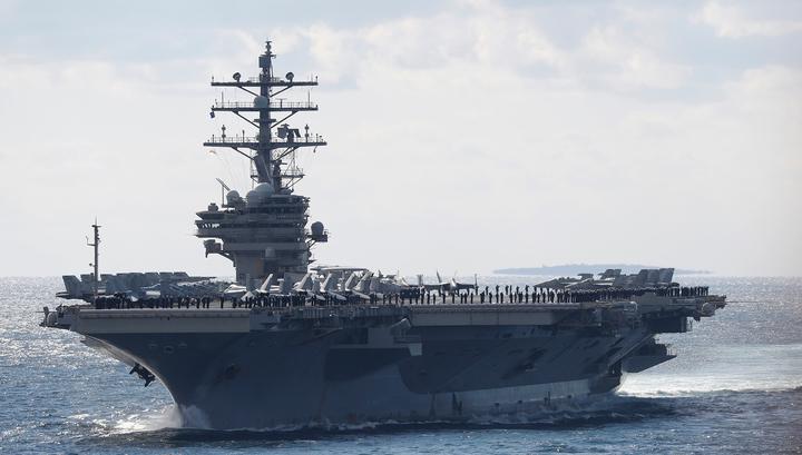 12 американских военнослужащих пострадали после падения вертолета на авианосец