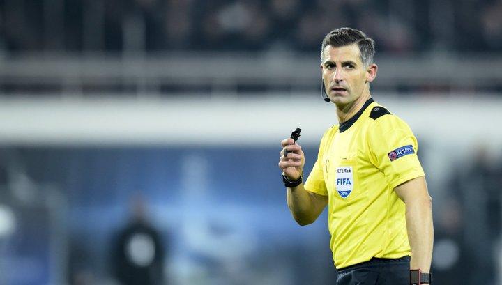 Грек Тасос Сидиропулос обслужит матч
