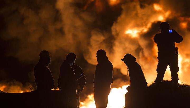 В Мехико две тысячи человек эвакуировали после взрыва на алкогольной фабрике