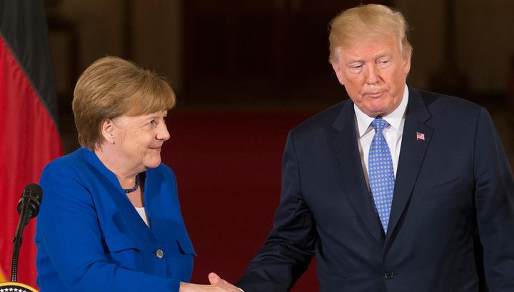 Трамп одобрил планы ФРГ относительно покупки газа у США