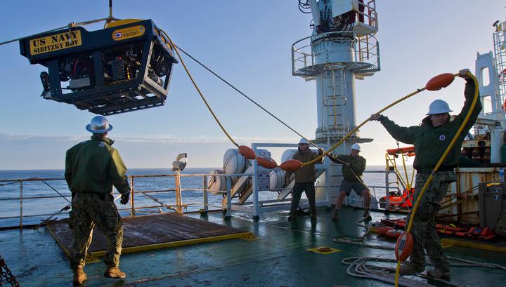 В зоне поиска субмарины San Juan найдены два крупных объекта