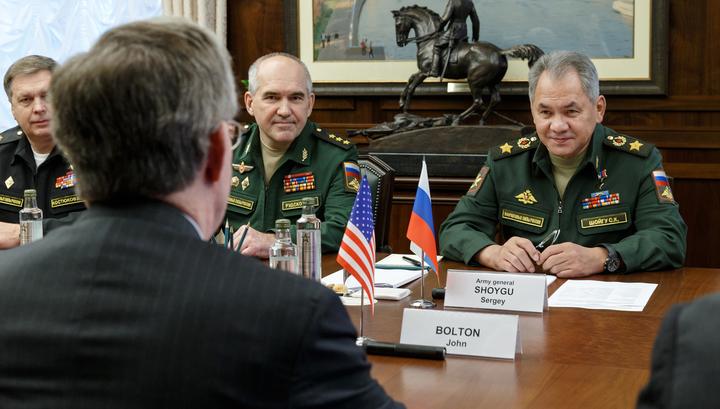 Шойгу: России и США нужен более активный диалог