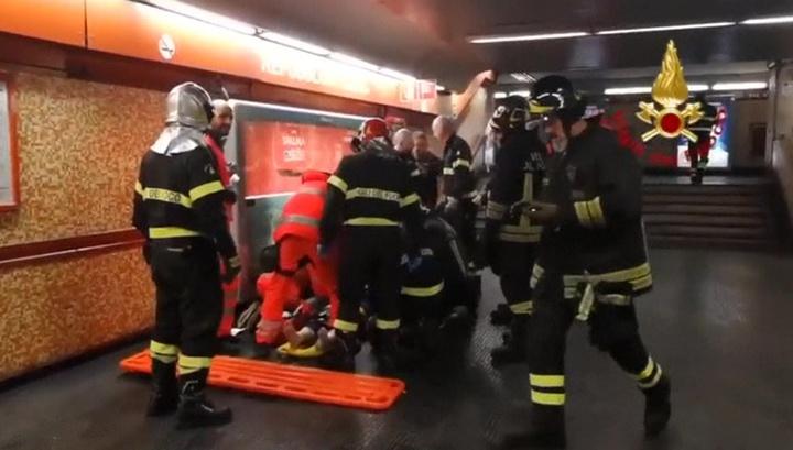 В Риме прооперированы двое пострадавших в метрополитене россиян
