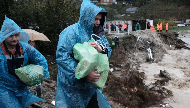 В Краснодарском крае пострадавшим от паводка выплатят миллиард