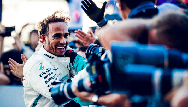 Формула-1. Хэмилтон стал победителем Гран-при России, Квят – 12-й