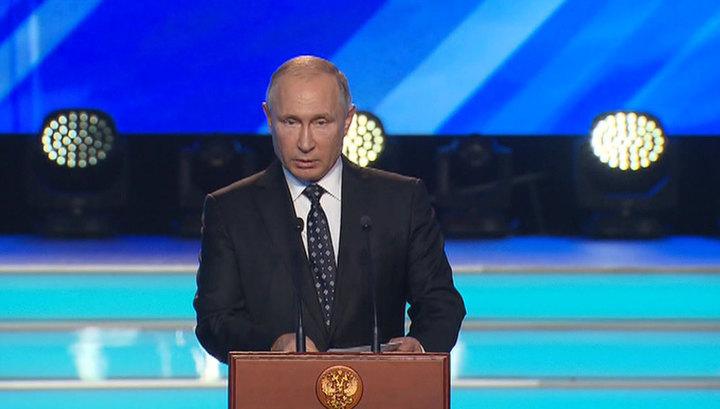 Владимир Путин отметил успехи военной разведки РФ в Сирии