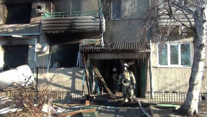 В результате взрыва газа в поселке Приамурском пострадали два человека
