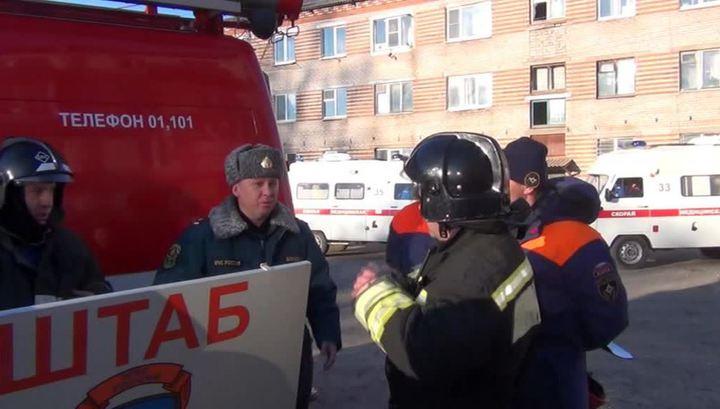 Взрыв газа в Приамурском: пострадали 4 человека, эвакуированы 120